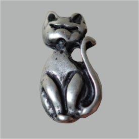 Zierniete Katze 23mm