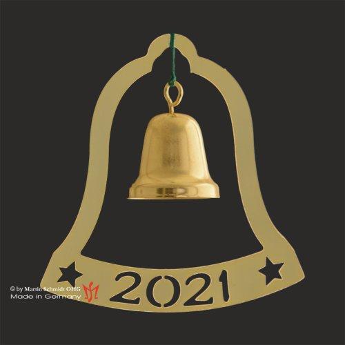 Glocke mit Jahreszahl 2021