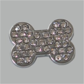 Zierniete Hundeknochen 19X14mm