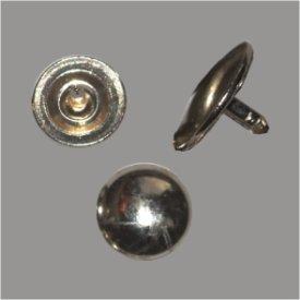 Federkernniete 12mm platin