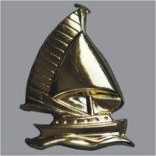 Splint Segelschiff 26mm gold