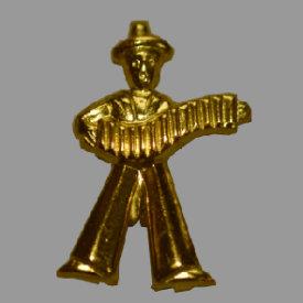 Splint Matrose mit Harmonika 22mm gold