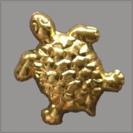 Splint Schildkröte 21mm gold