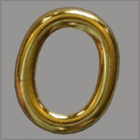 Splint Oval 25mm gold