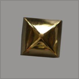 Splint Pyramide mit abgerundeten Kanten 13mm gold