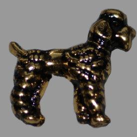 Splint Pudel 23mm altgold