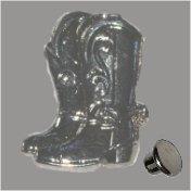 Zierniete Stiefelpaar 30mm platin