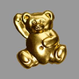 Splint Teddybär 17mm gold
