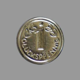 Splint Glückspfennig 15mm silber