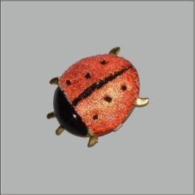Splint Käfer 16mm handbemalt
