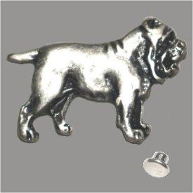 Zierniete Bulldoge 27mm altsilber