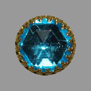 gold aquamarine