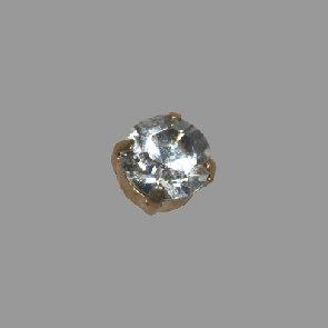 gold Stein kristall