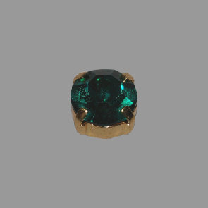 gold Stein emerald